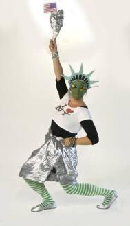 Lady Liberty shines!