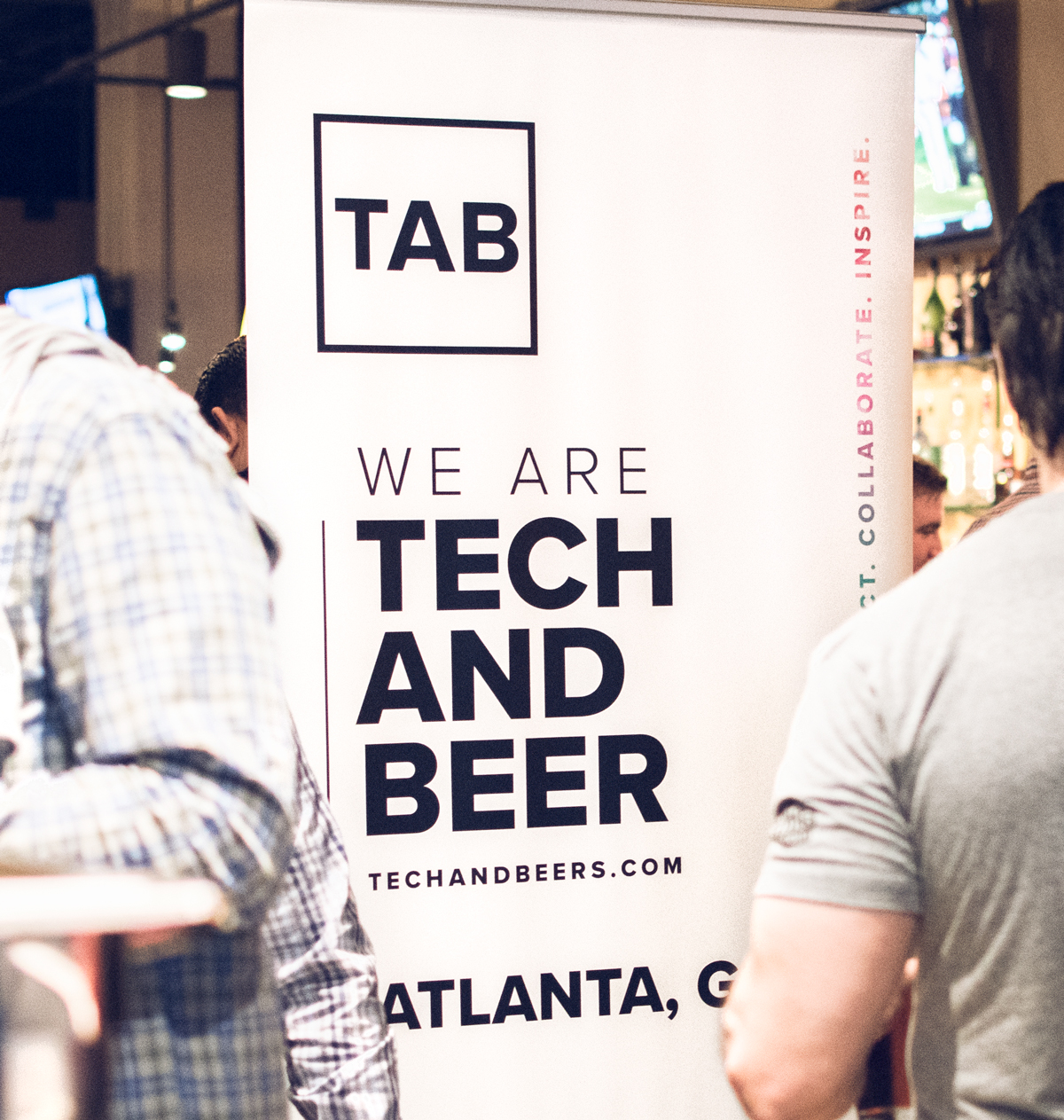 Atlanta Tech And Beers event banner.