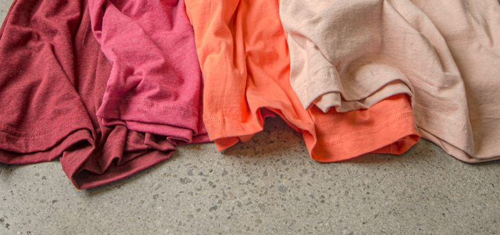 T-Shirt Color Palette